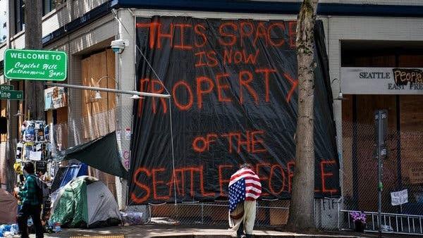 Seattle's Capitol Hill Autonomous Zone Andy Ngô Newt's World Podcast