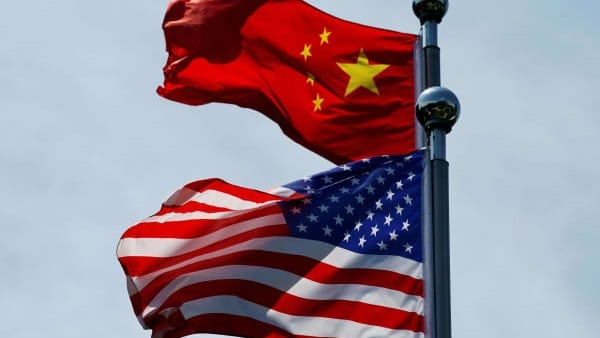 US and China Flags Newt Gingrich