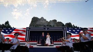 President Trump at Mount Rushmore Independence Day 2020