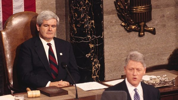 Bill Clinton State of the Union Newt Gingrich Newt's World Podcast