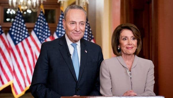 Nancy Pelosi and Chuck Schumer