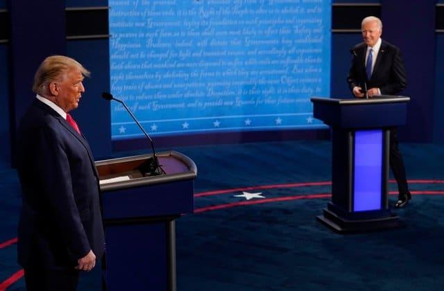 Second Presidential Debate Joe Biden Newt Gingrich Donald Trump
