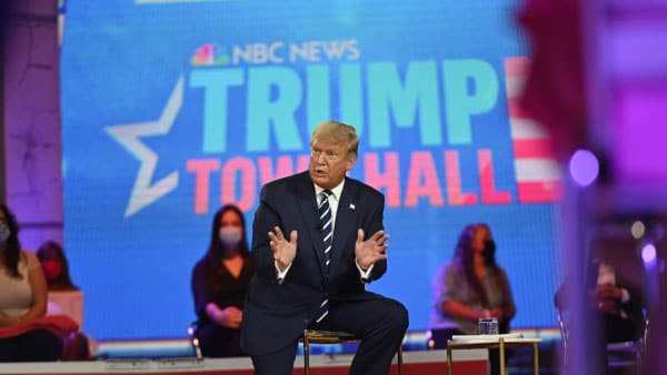 Newt Gingrich Audio: Newt Reviews President Trump's NBC Town Hall Performance