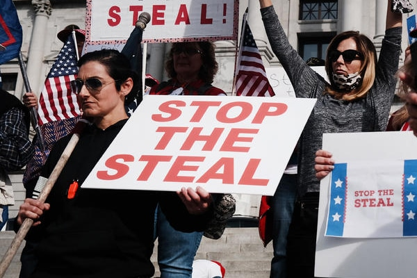 Stop the Steal Newt's World Podcast