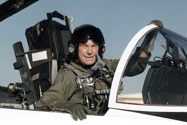 General Chuck Yeager Newt's World Podcast