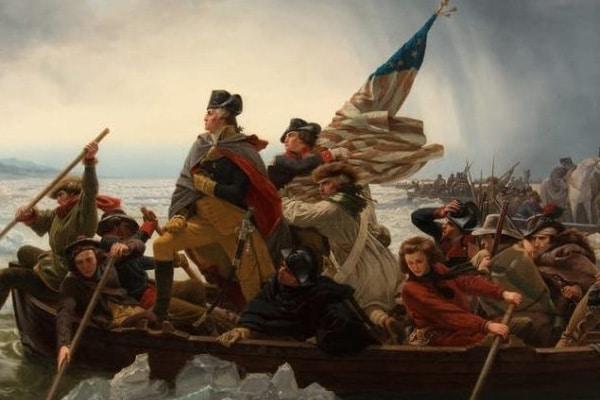 Washington Crossing the Delaware Newt's World Podcast