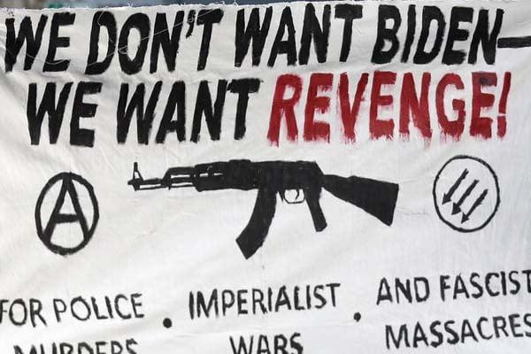 When Will Biden Condemn the Rioting?