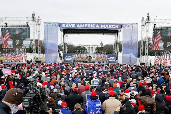 Save America Rally Pete Hegseth Newt's World Podcast