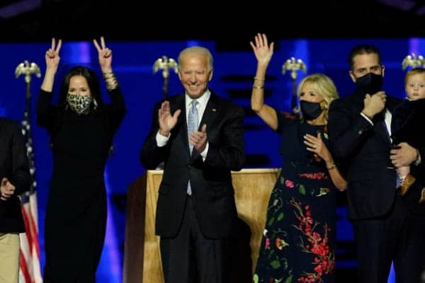 Biden Family Basks in the Glory of the White House