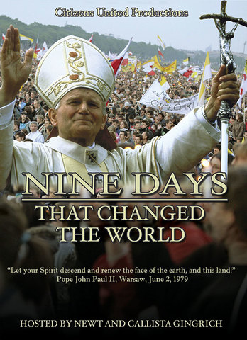 Nine Days that Changed the World by Newt and Callista Gingrich DVD