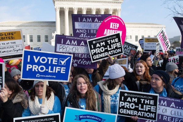 Newt Gingrich House Republicans Rally Against Biden's Abortion Agenda