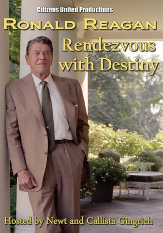 Ronald Reagan - Rendezvous with Destiny by Newt and Callista Gingrich DVD