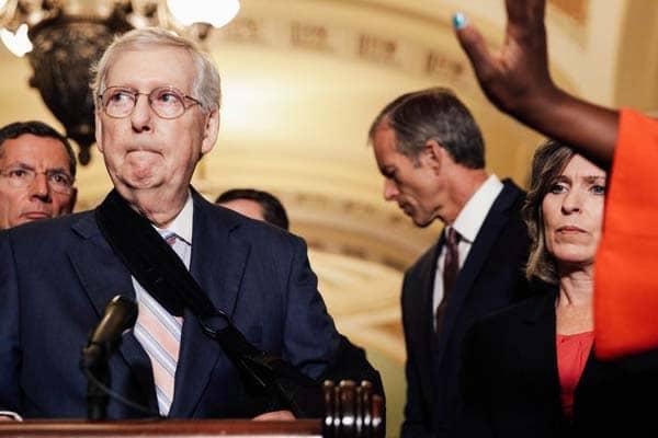 Senate Republicans Newt Gingrich Trump Plus Strategy