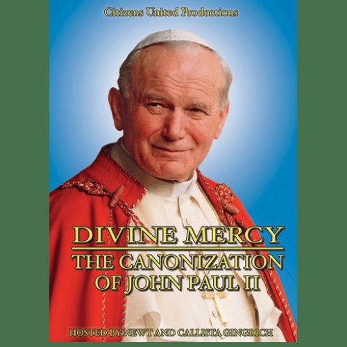 Divine Mercy - The Canonization of John Paul II Newt and Callista Gingrich DVD