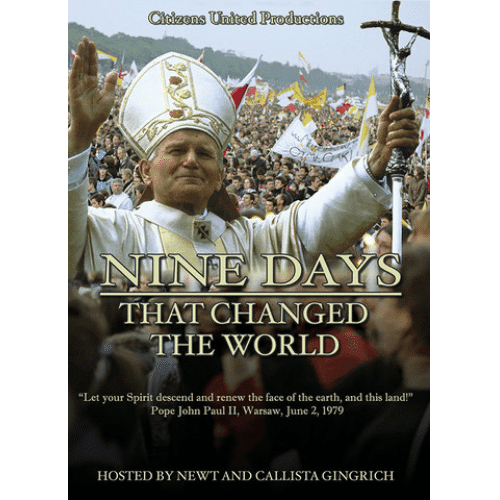 Nine Days that Changed the World Newt and Callista Gingrich DVD