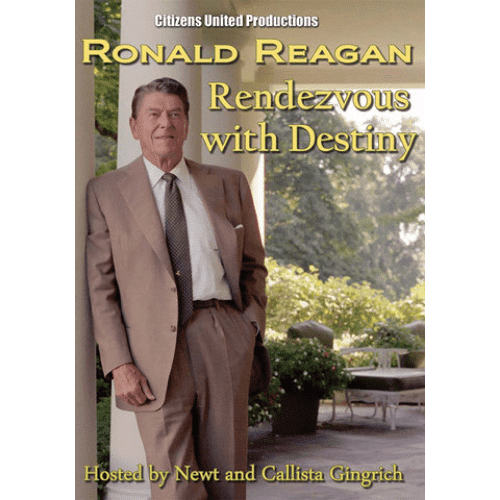 Ronald Reagan Rendezvous with Destiny by Newt and Callista Gingrich DVD
