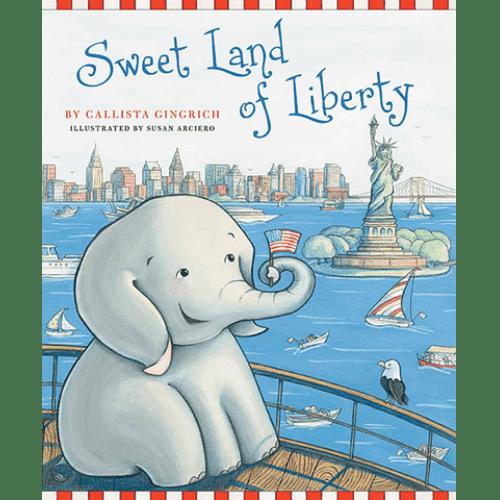 Ellis the Elephant Sweet Land of Liberty Callista Gingrich
