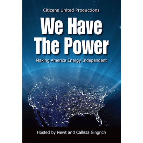 We Have the Power by Newt and Callista Gingrich DVD