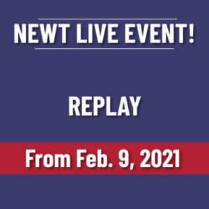 Newt's Inner Circle Live Event | Feb 9 2021