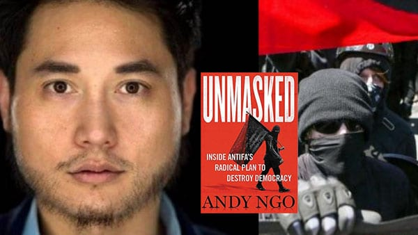 Newt Gingrich Andy Ngo ANTIFA Anti Facist Newt's World Podcast