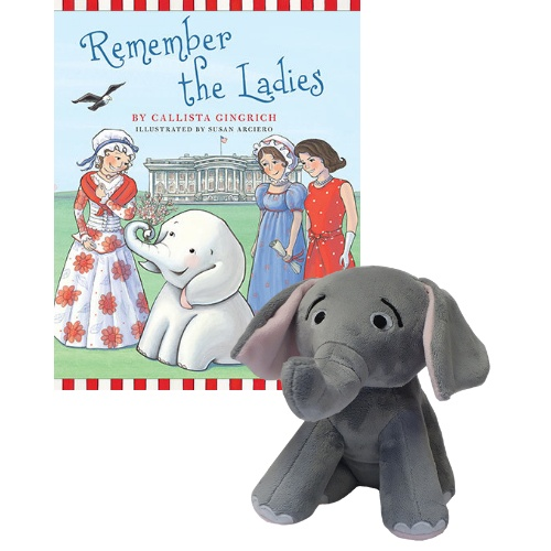 Ellis the Elephant Remember the Ladies - Autographed Book and Plush Toy Callista Gingrich
