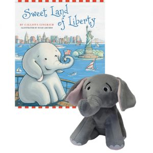 Ellis the Elephant Sweet Land of Liberty - Autographed Book and Plush Toy Callista Gingrich