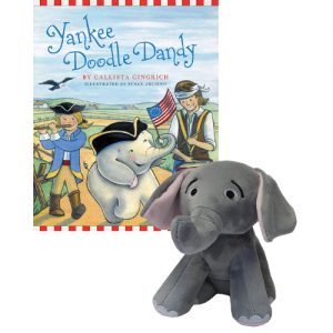 Ellis the Elephant Yankee Doodle Dandy - Autographed Book and Plush Toy Callista Gingrich