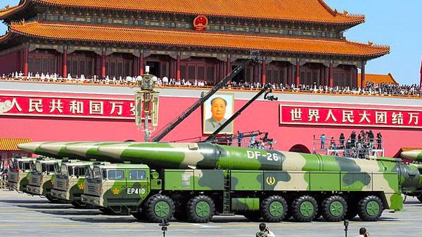Aaron Kliegman China Nuclear Arsenal