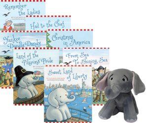 Ellis The Elephant Series with Plush Toy