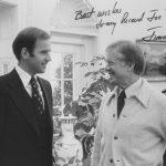 Joe Biden and Jimmy Carter