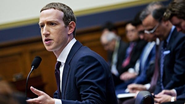 Mark Zuckerberg Big Tech