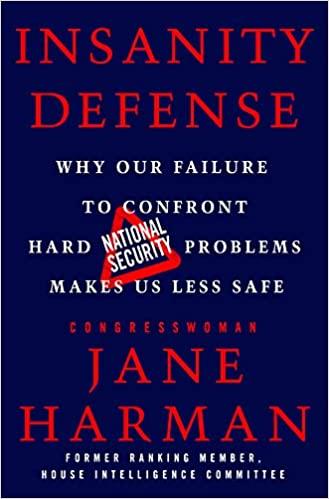 Insanity Defense Jane Harman