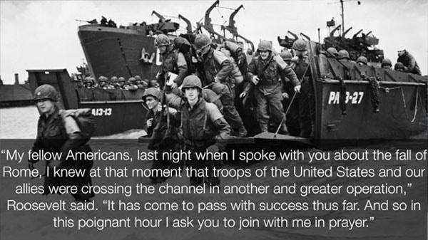 Newt Gingrich Audio Update FDR D-Day Prayer