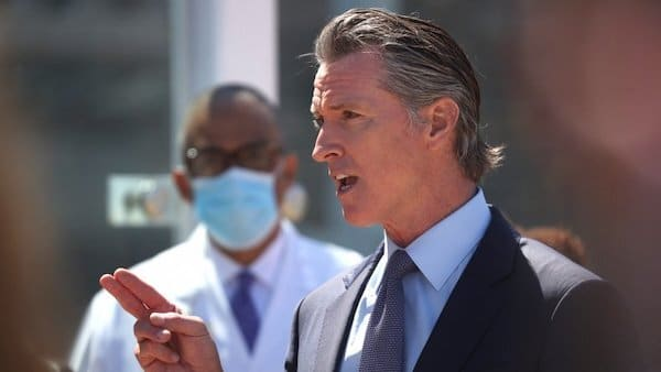 """Newsom in His Own Words: Unvaccinated People are """"Like Drunk Drivers"""""""