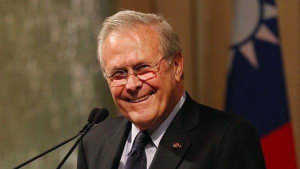 Newt Gingrich Don Rumsfeld- Romantic, Patriot, Defender of America