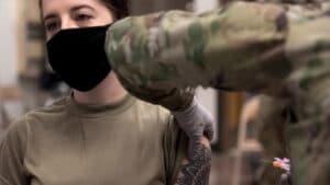 Anna Paulina Luna Vaccines and the Military