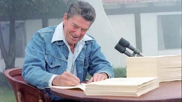 Newt's World 40 Annv Reagan Tax Cut