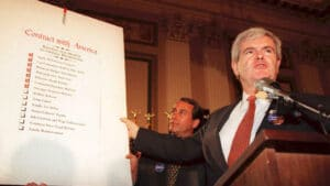 Newt Gingrich Audio On This Anniversary of Contact with American – Can Republicans Do It Again