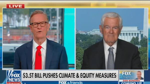 video Newt Gingrich on Fox & Friends | September 27, 2021